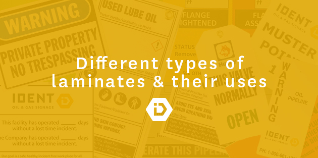 Different types of laminates and their uses