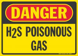 D-212 H2S Poisonous Gas