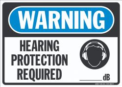 W-319 Hearing Protection DB