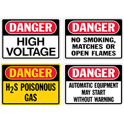 Danger Signs & Decals