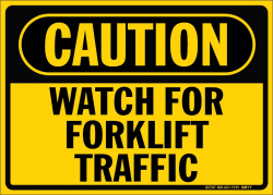 C-Forklift Traffic