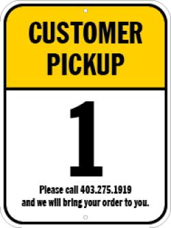 Customer Pickup