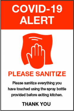 Please Sanitize