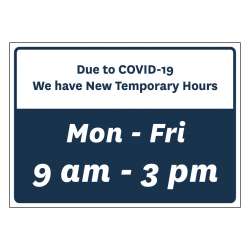 Temporary Hours