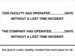 Incident report Whiteboard