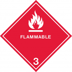 Flam Classification Decal
