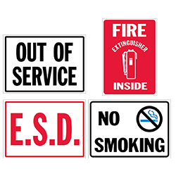 Standard Safety Signs & Decals