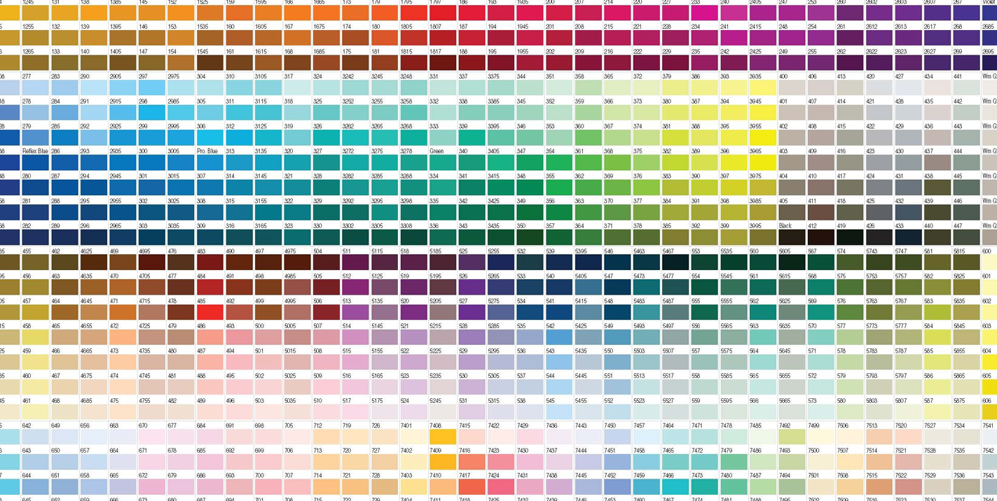 RGB, CMYK & PANTONE, What's the difference?