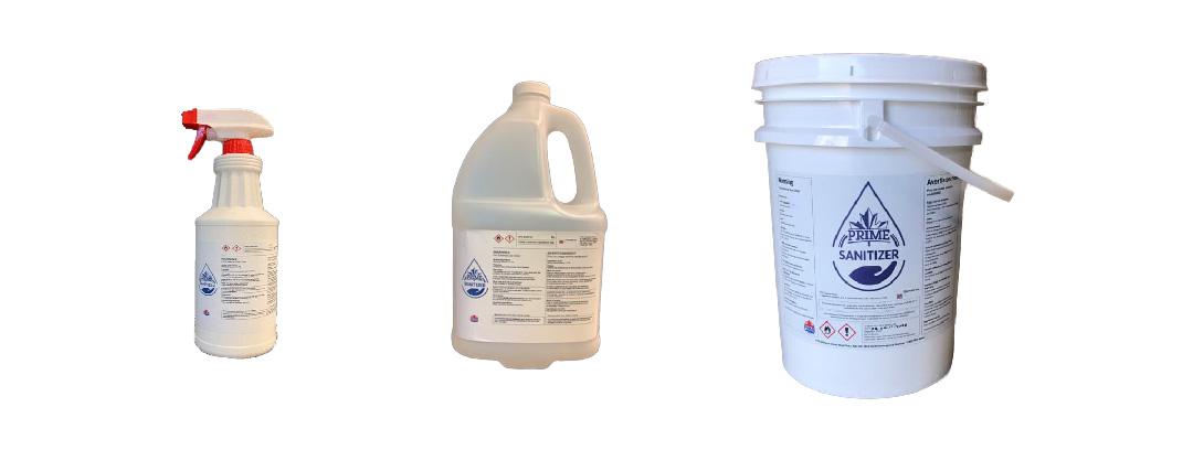 Hand Sanitizer in 3 sizes