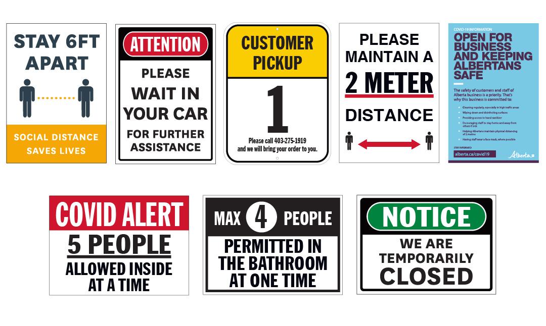 COVID-19 Signs