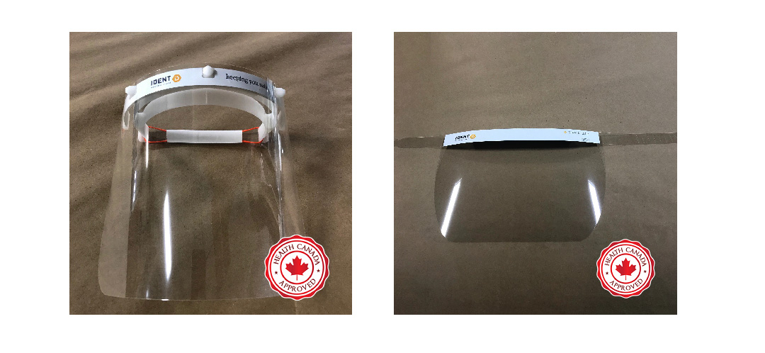 Health Canada Face Shields