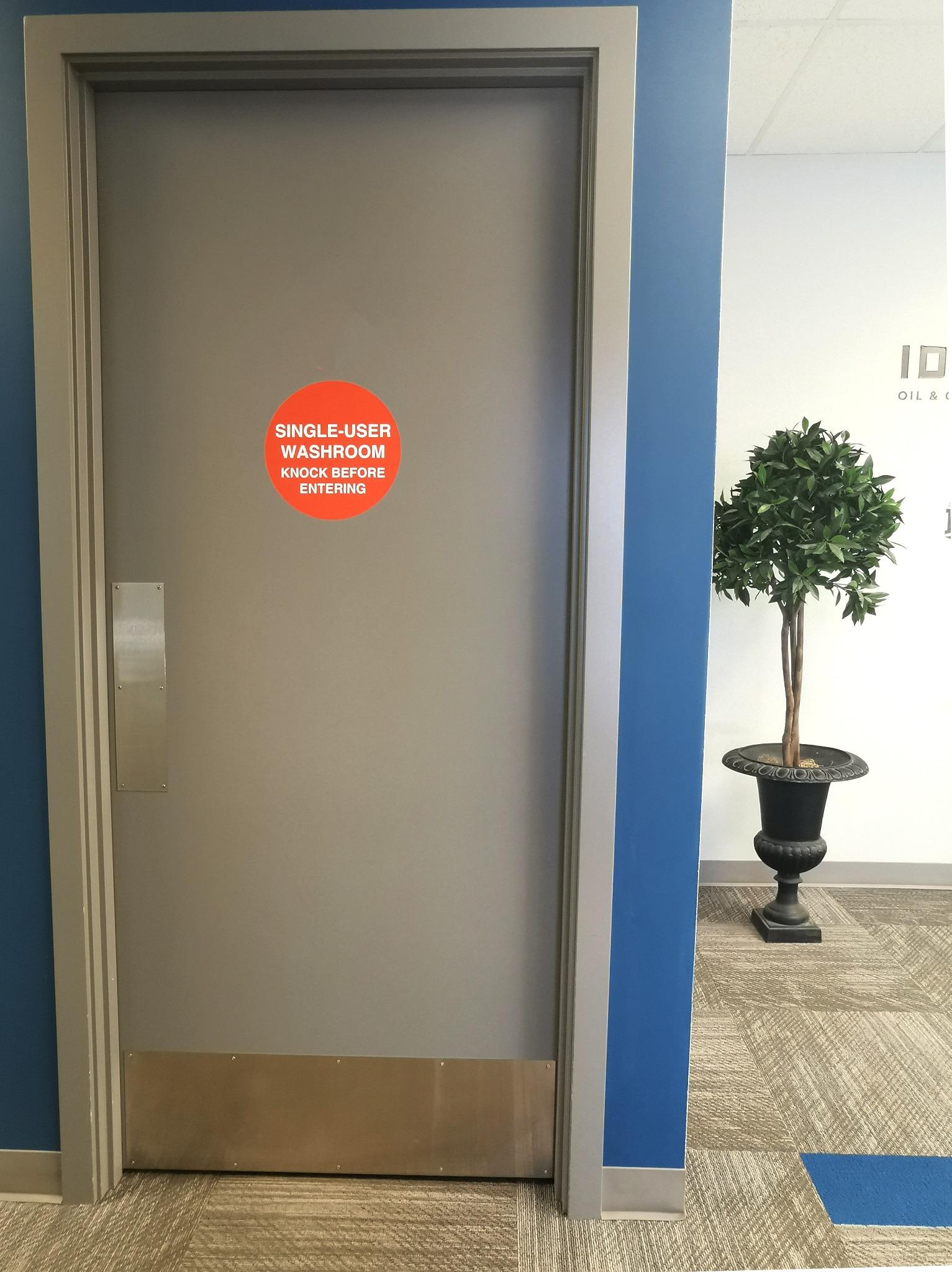 Single User Bathrooms