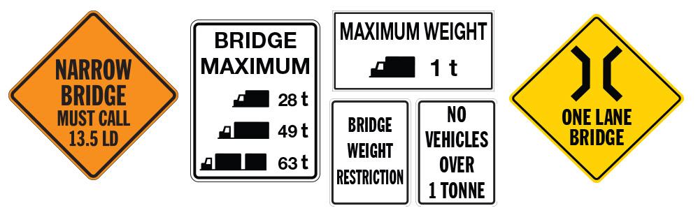Bridge Signs