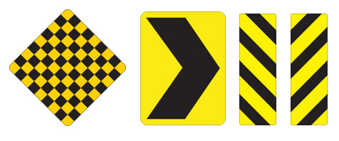 Delineator Signs